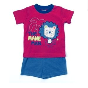 Baby Essentials Baby Boy Short Set  12 month